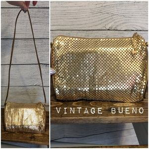 Vintage 1960-70's Bueno Gold chainmail crossbody